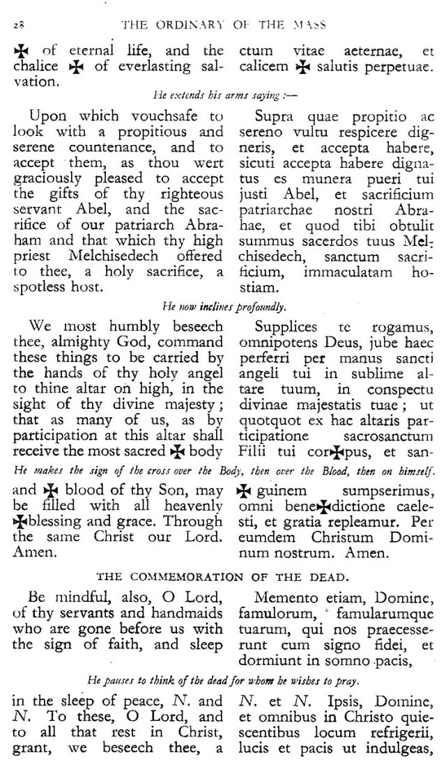 Dominican Ordo Missae 24