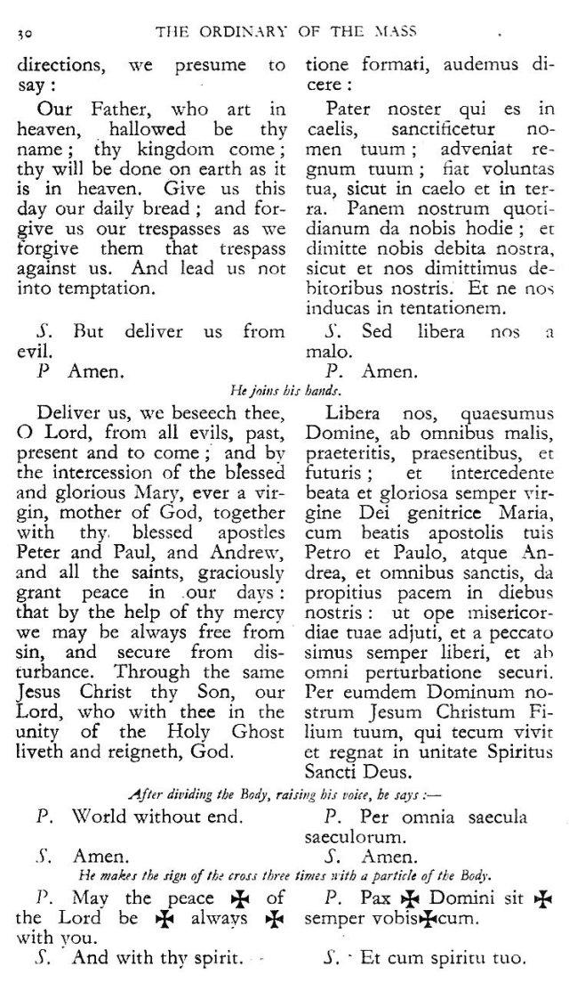 Dominican Ordo Missae 26