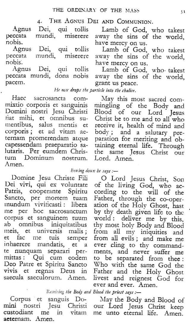 Dominican Ordo Missae 27
