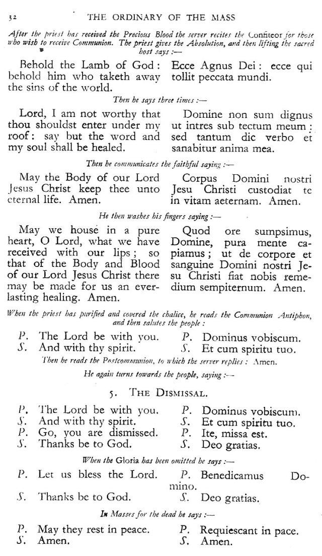 Dominican Ordo Missae 28