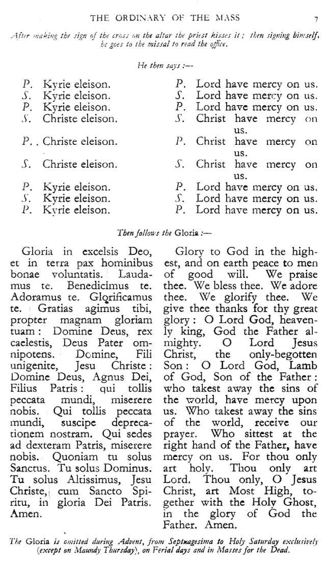 Dominican Ordo Missae 3