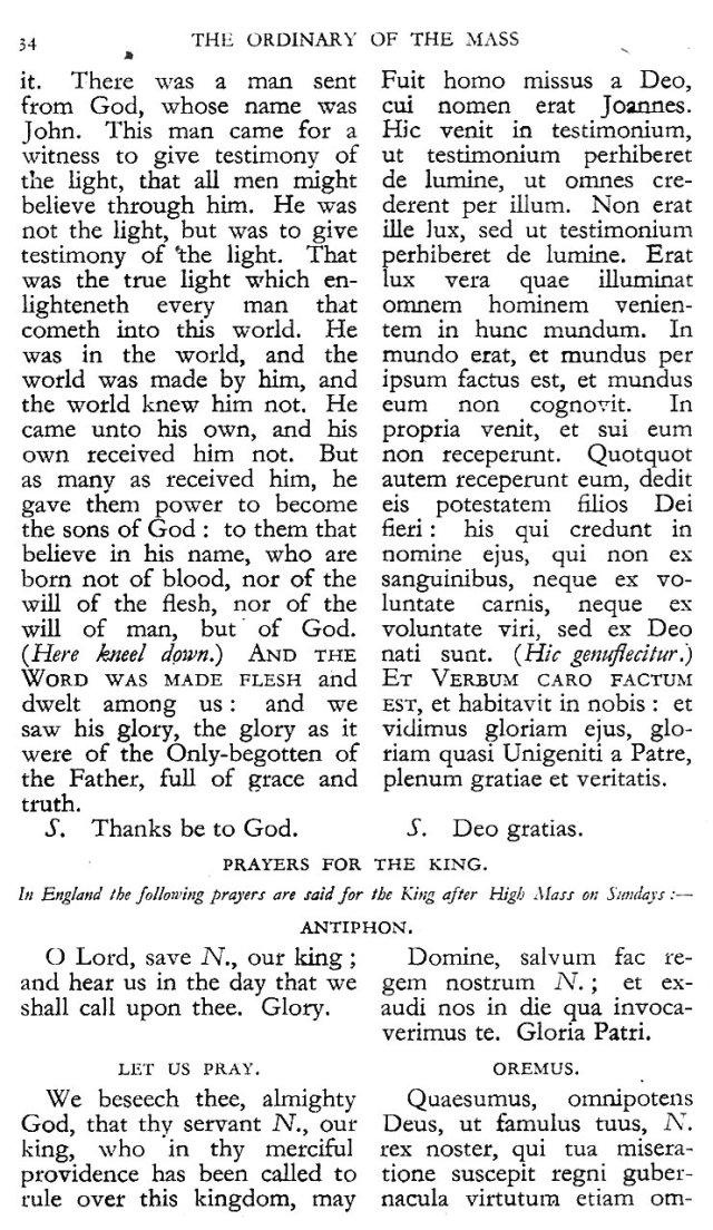 Dominican Ordo Missae 30