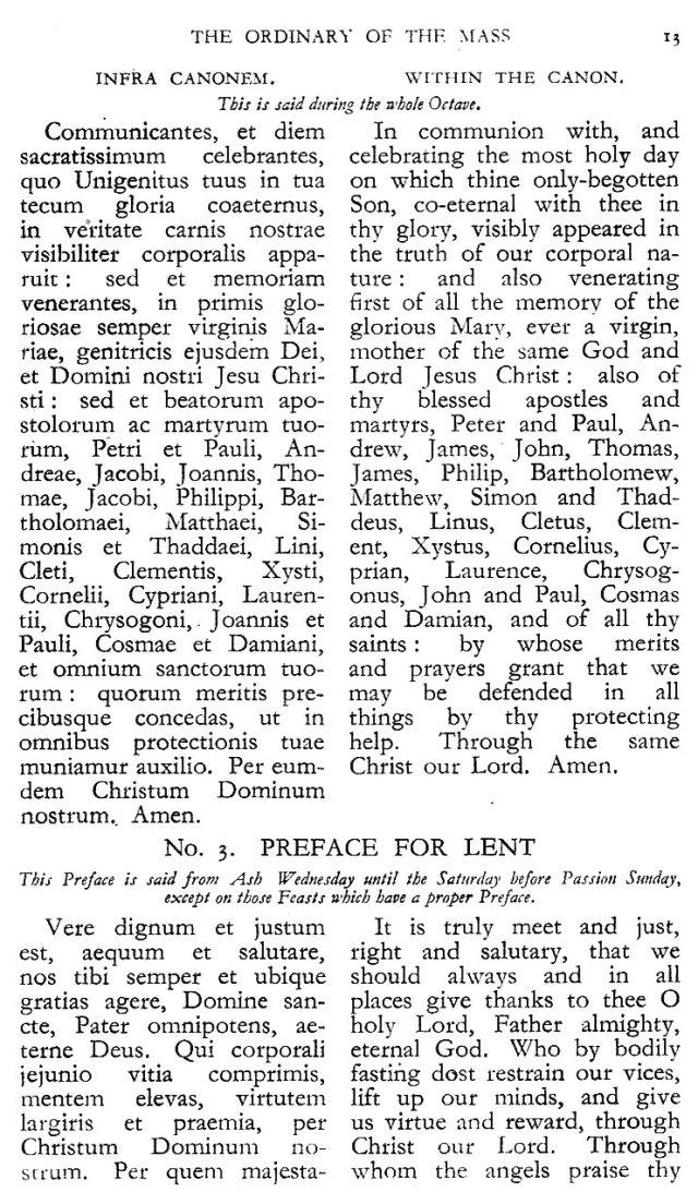 Dominican Ordo Missae 9