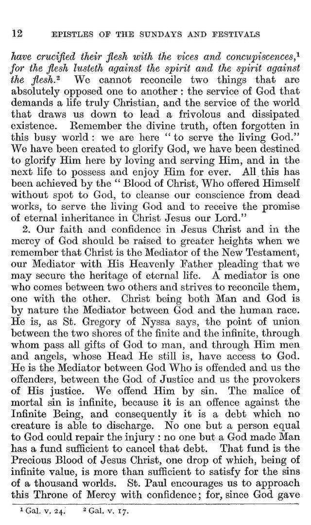 Passion Sunday Epistle 12