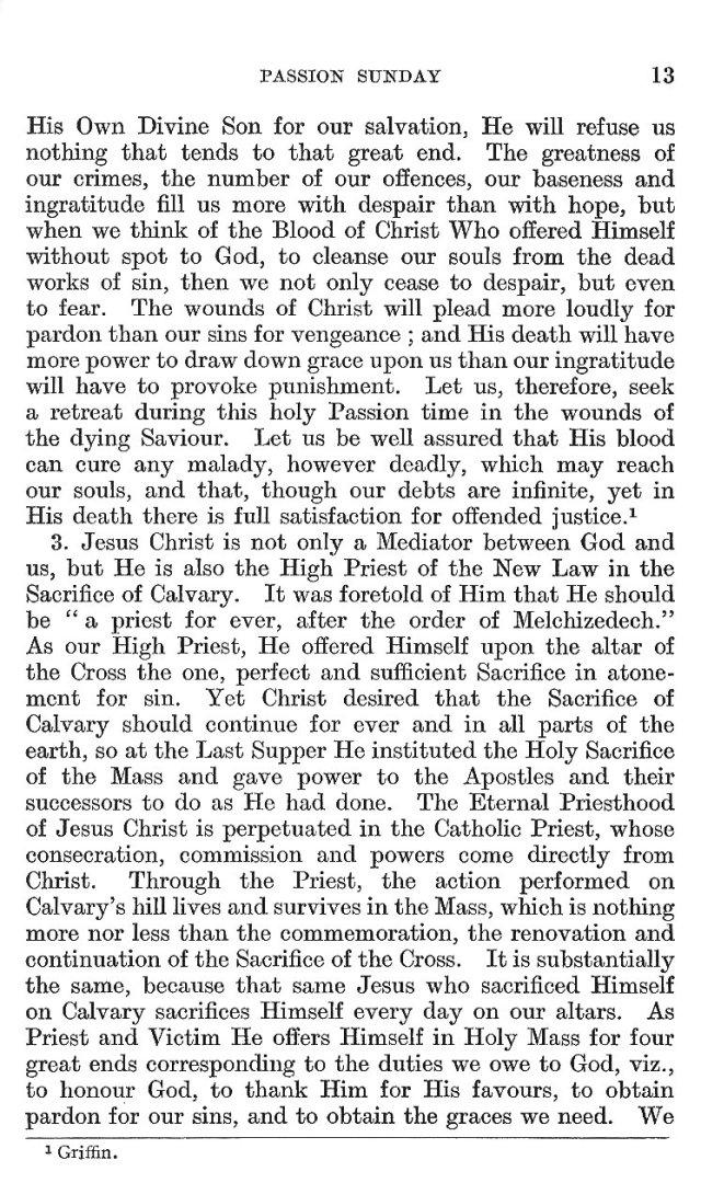 Passion Sunday Epistle 13