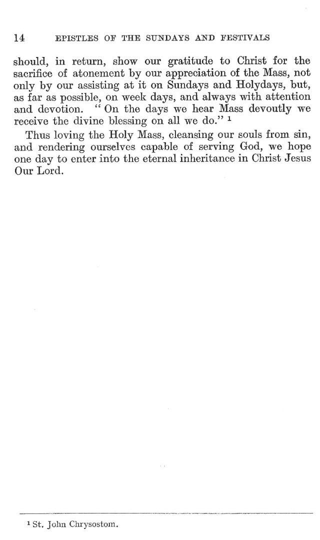 Passion Sunday Epistle 14