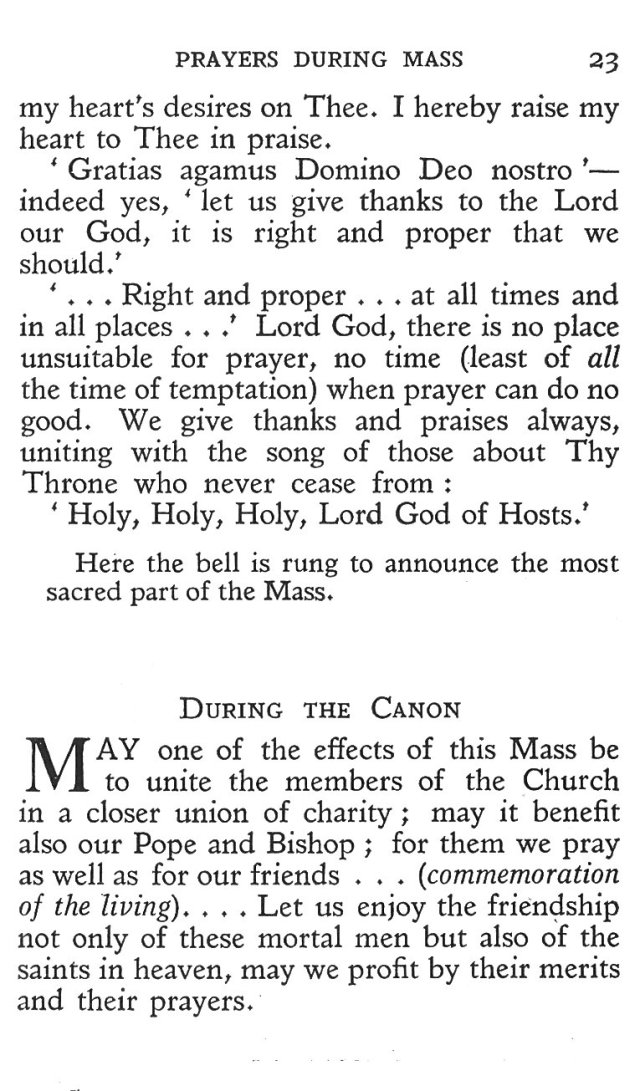 Prayers during Mass 11