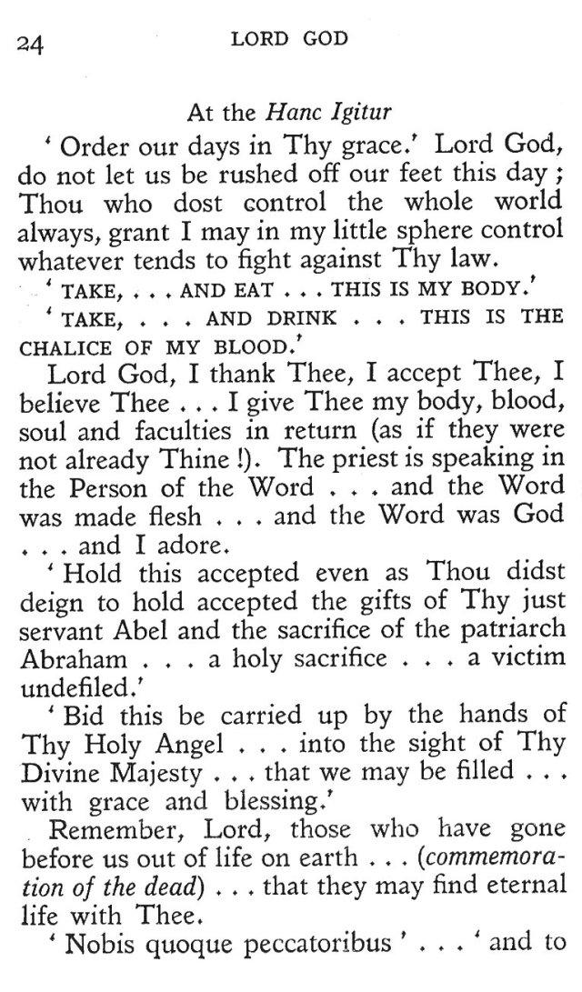 Prayers during Mass 12