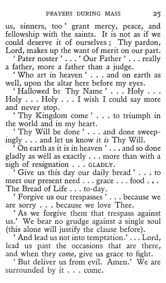 Prayers during Mass 13