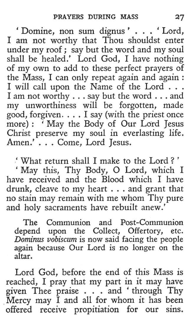 Prayers during Mass 15