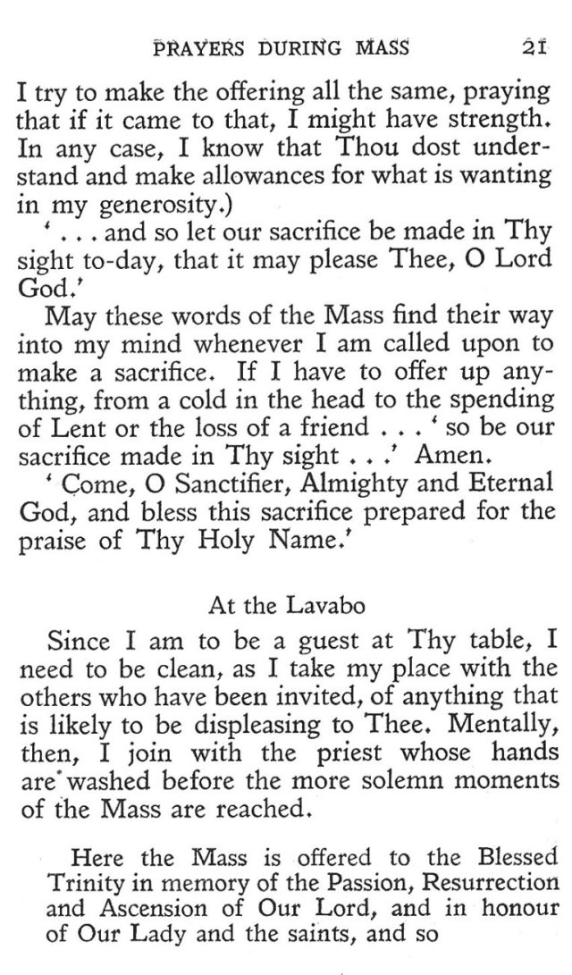 Prayers during Mass 9