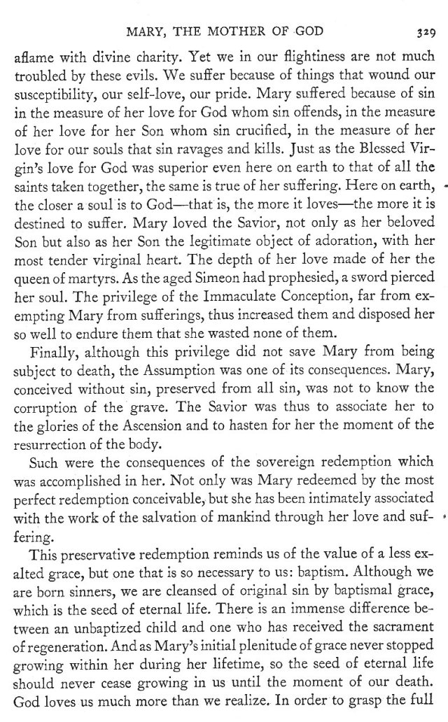 Sovereign Redemption and Its Fruits in Mary 9