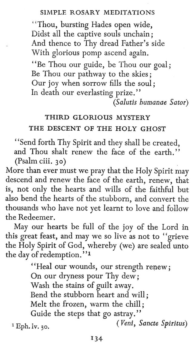 For Pentecost 10