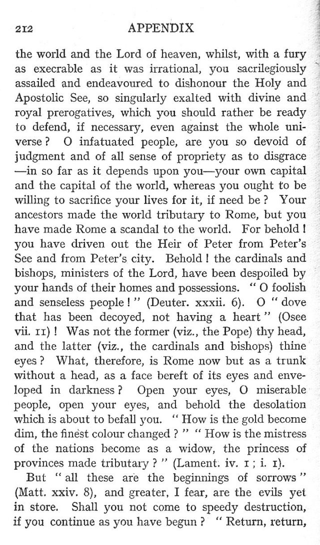 Letter to the Roman People 4