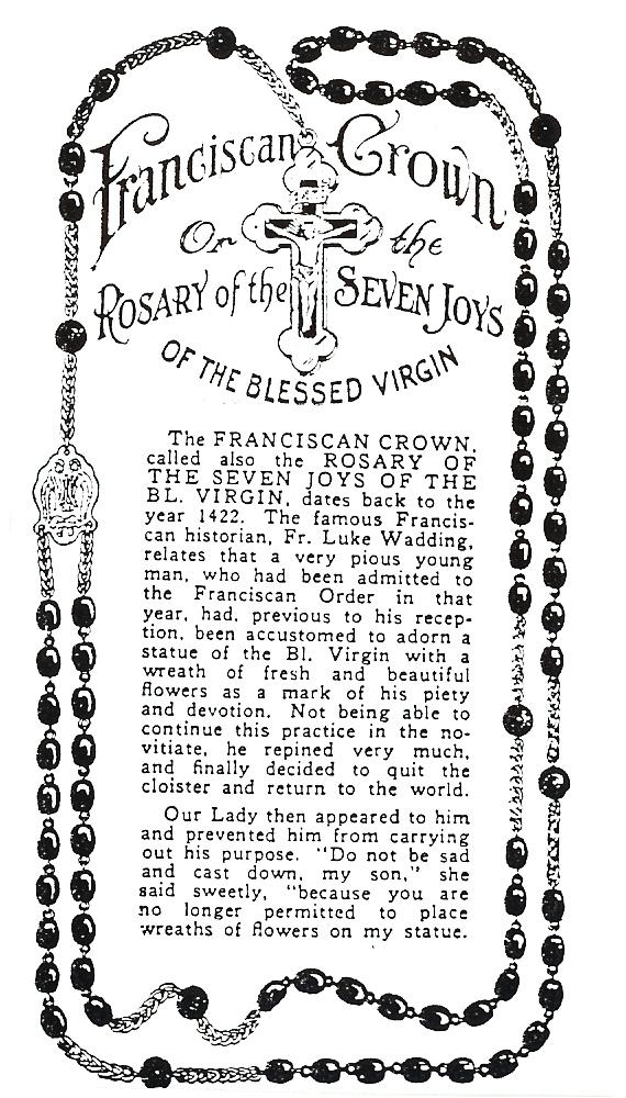 Seraphic Rosary 1