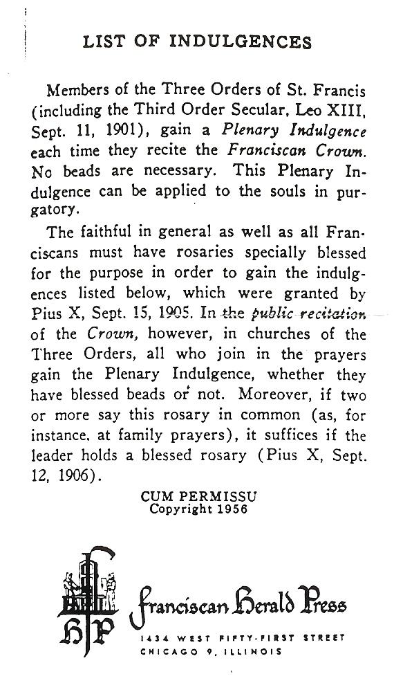 Seraphic Rosary 6