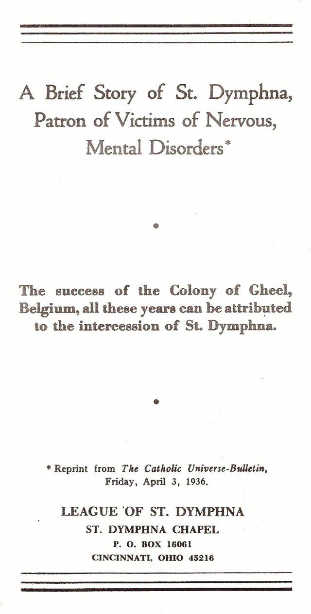 St. Dymphna 1