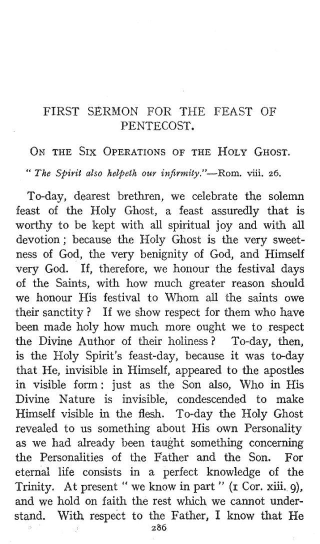 1st Pentecost Sermon 1