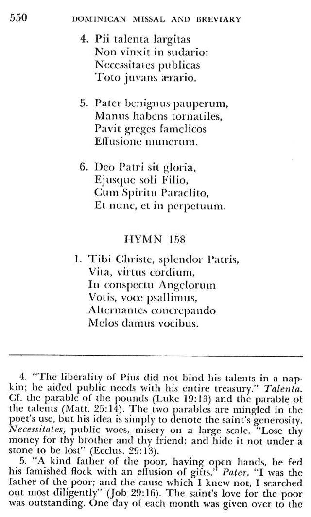 St. Pius V Hymns 11