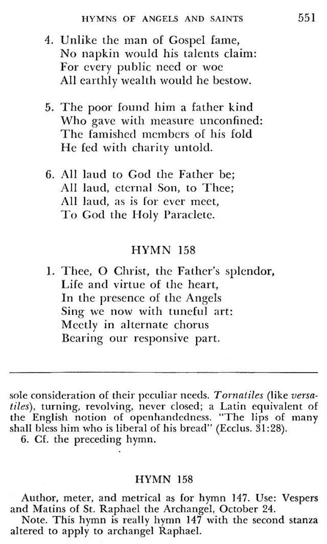 St. Pius V Hymns 12