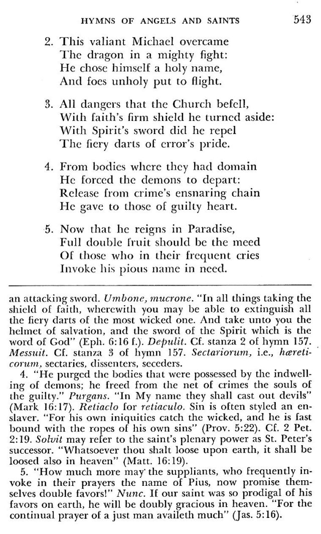 St. Pius V Hymns 4