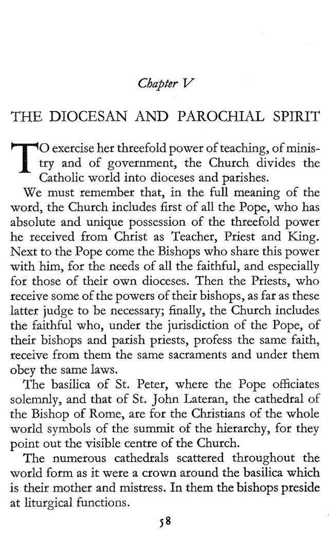 The Diocesan and Parochial Spirit 1