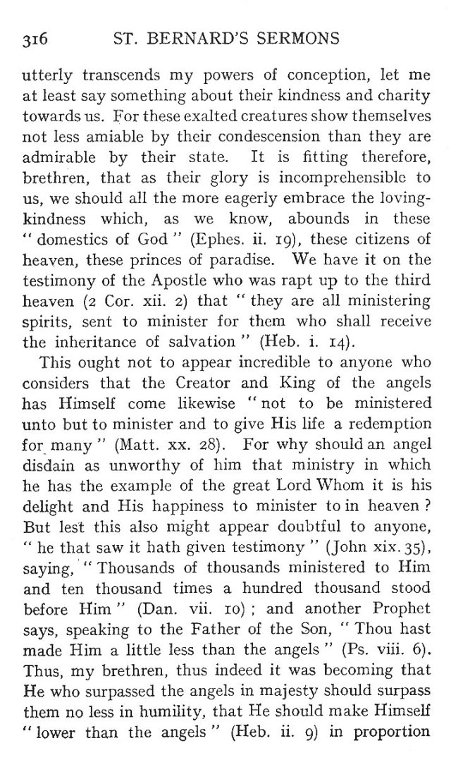 1st Sermon St. Michael 2