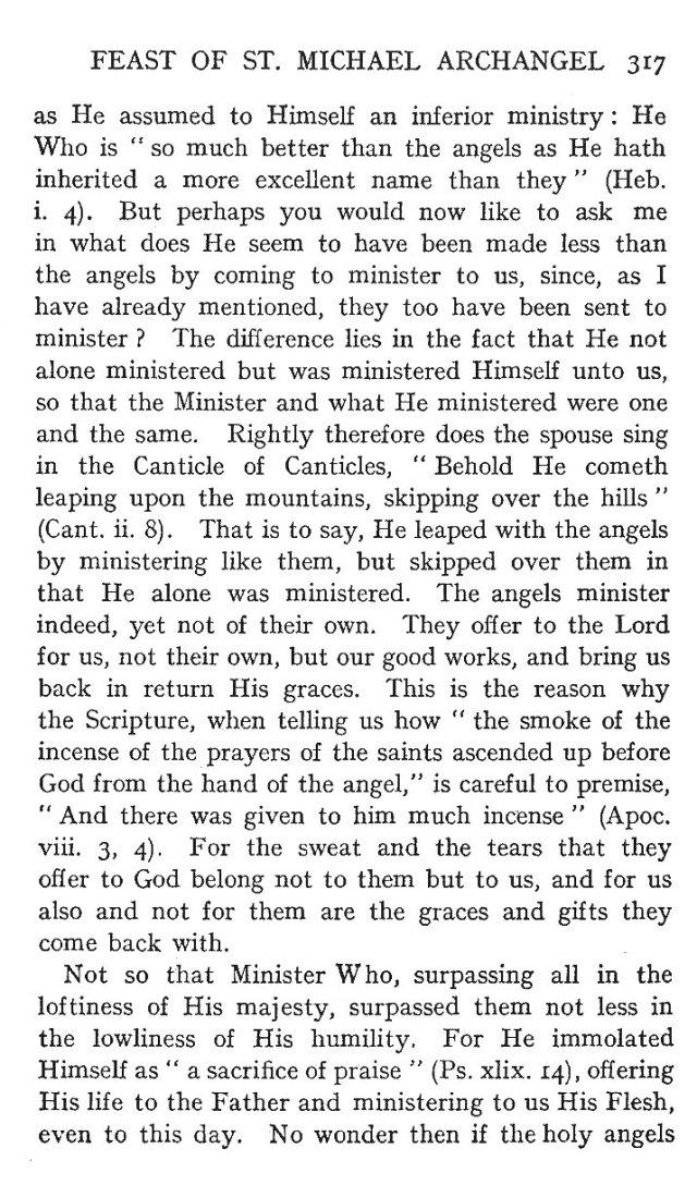 1st Sermon St. Michael 3