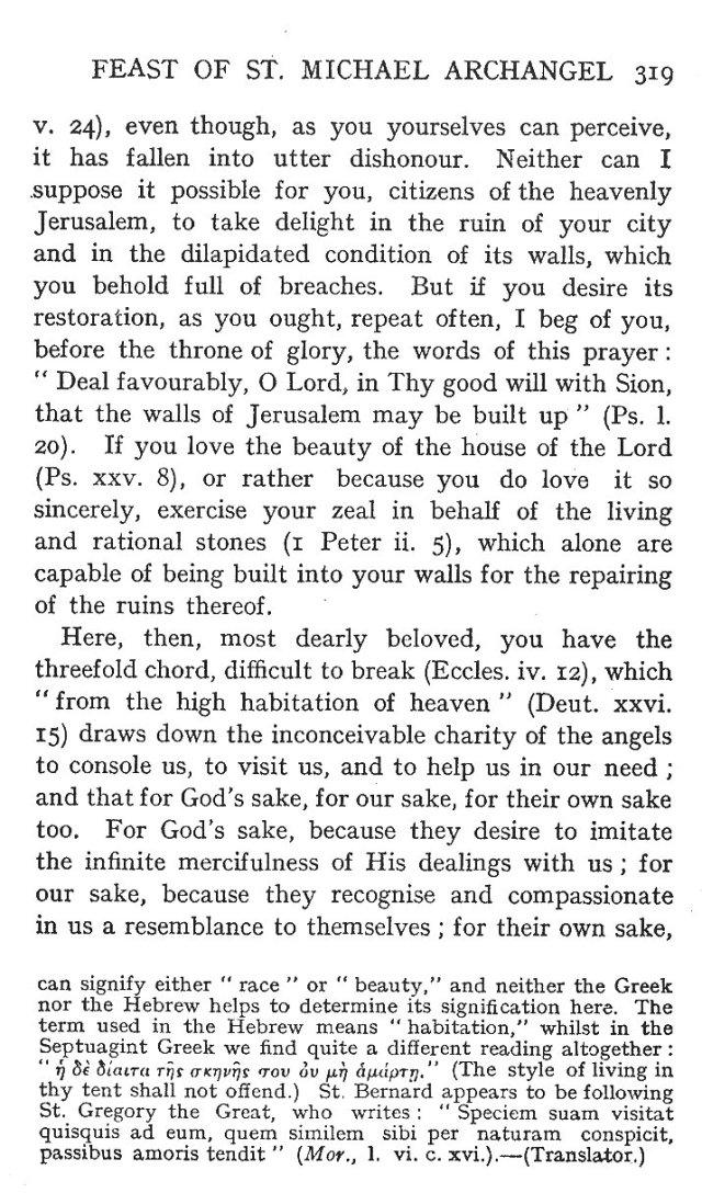 1st Sermon St. Michael 5