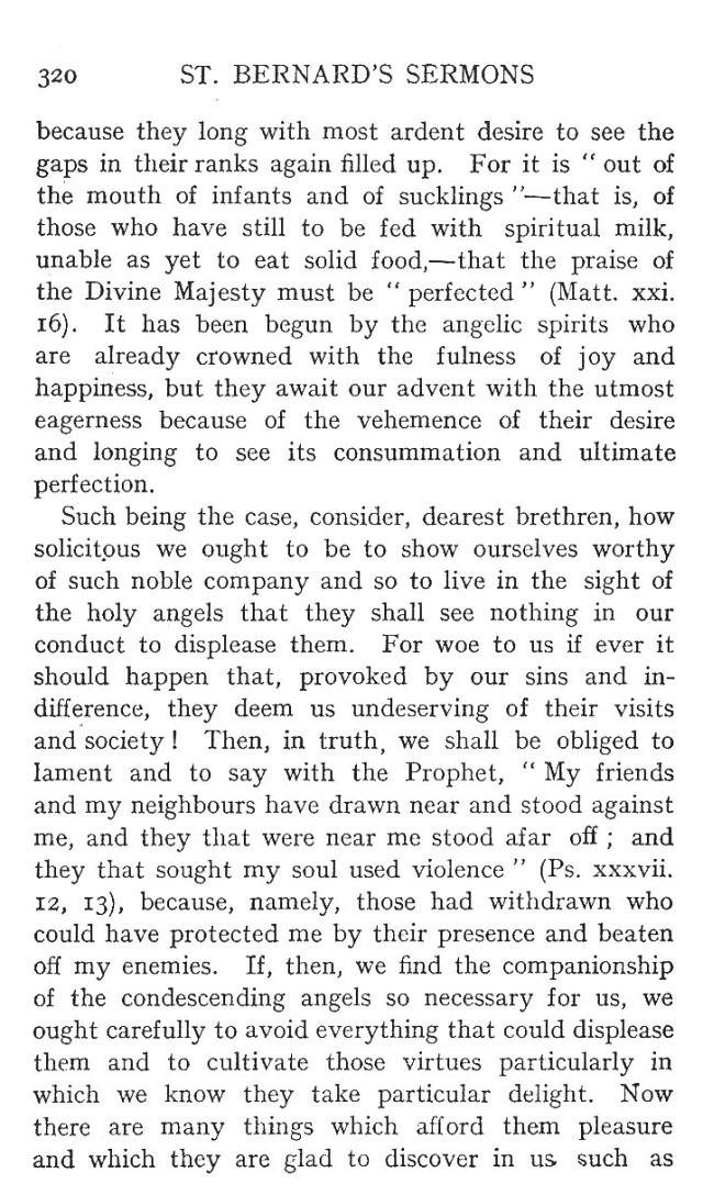 1st Sermon St. Michael 6