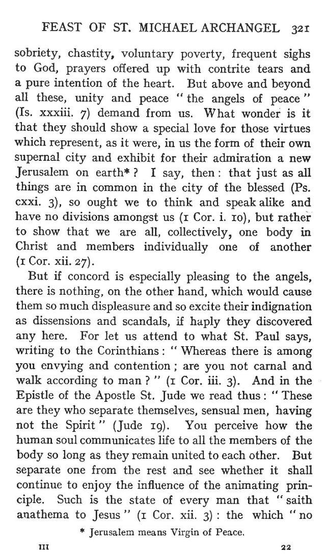 1st Sermon St. Michael 7
