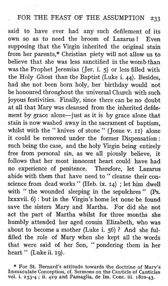 2nd Assumption Sermon 10
