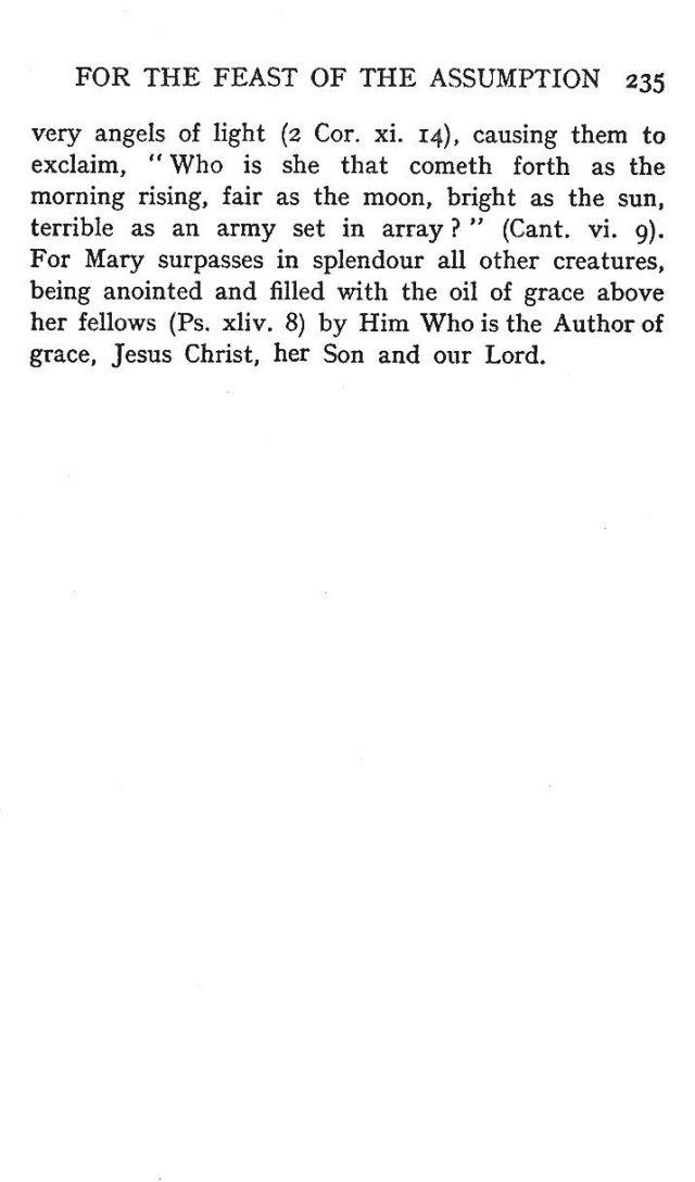 2nd Assumption Sermon 12