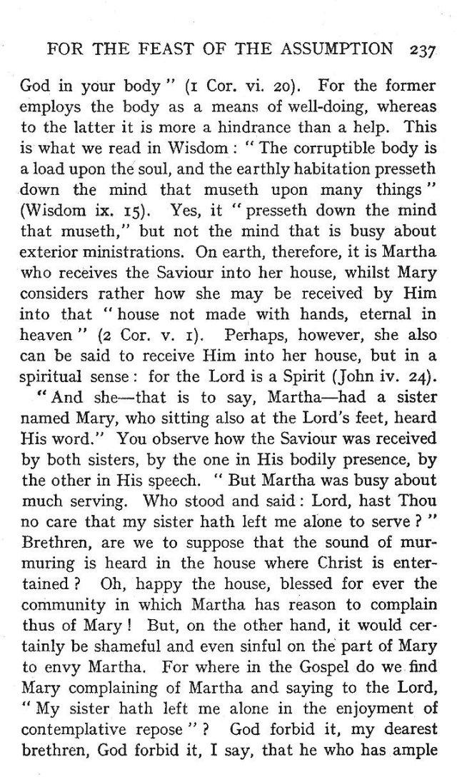 3rd Assumption Sermon 2