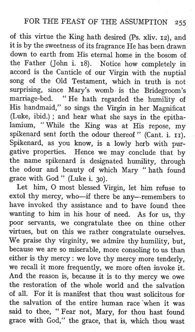 4th Assumption Sermon 10