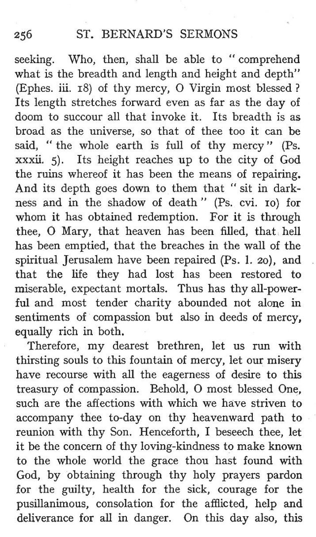 4th Assumption Sermon 11
