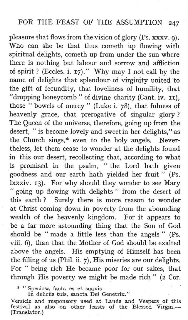 4th Assumption Sermon 2