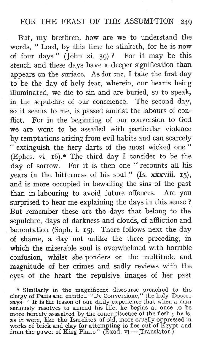 4th Assumption Sermon 4