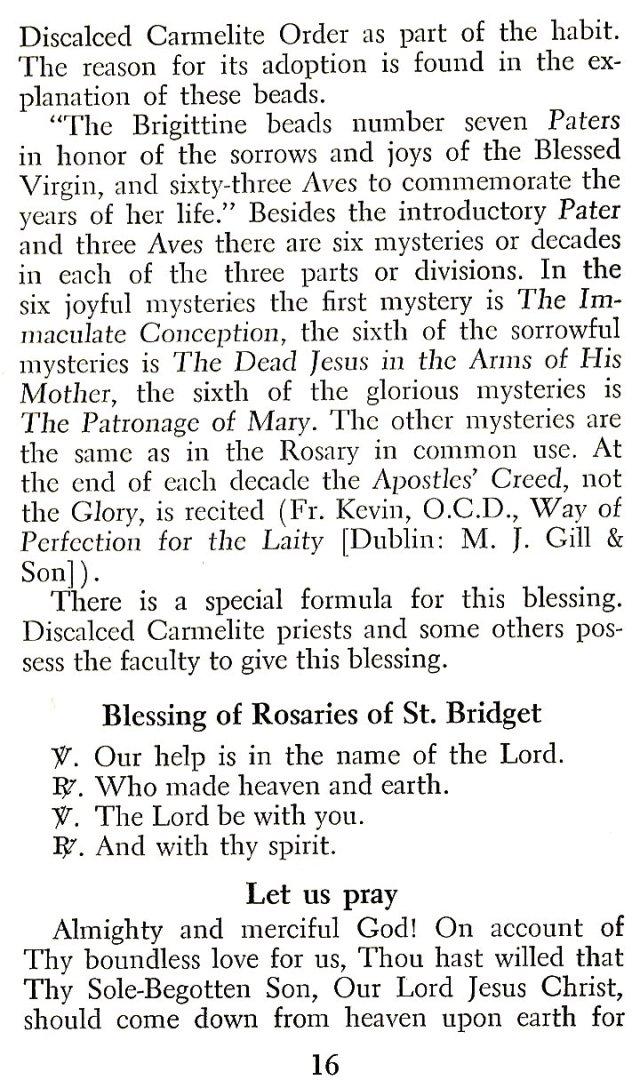 Brigittine Rosary 2