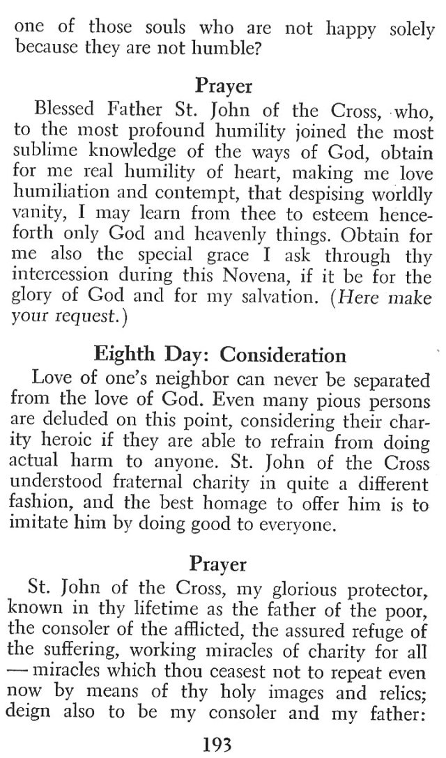Devotions St. John of the Cross 10