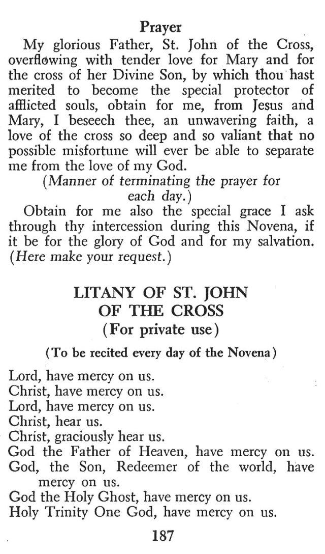 Devotions St. John of the Cross 4