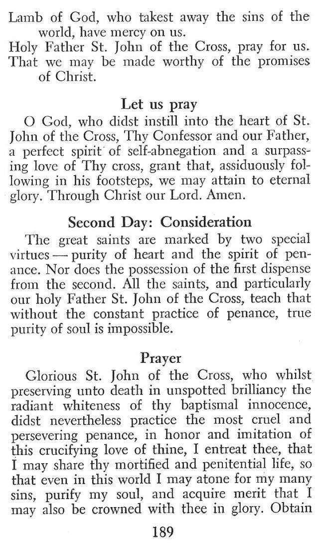 Devotions St. John of the Cross 6