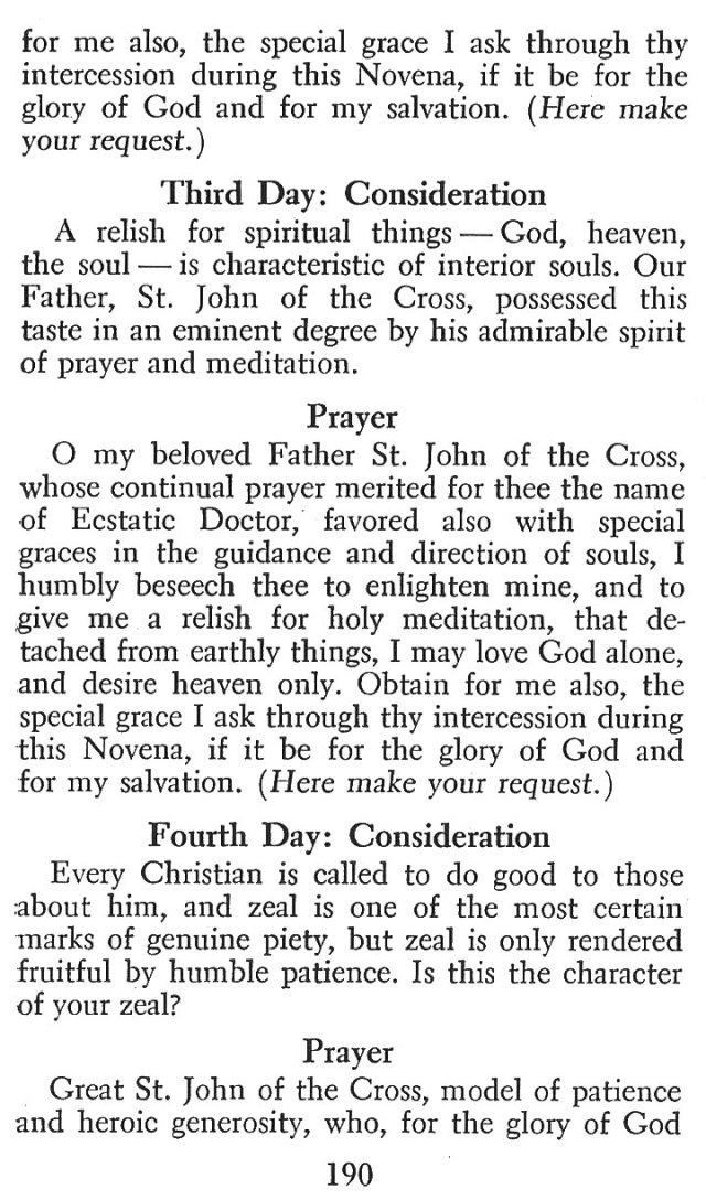 Devotions St. John of the Cross 7