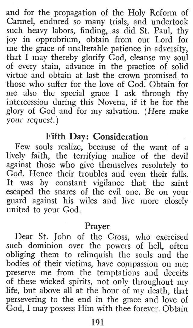 Devotions St. John of the Cross 8
