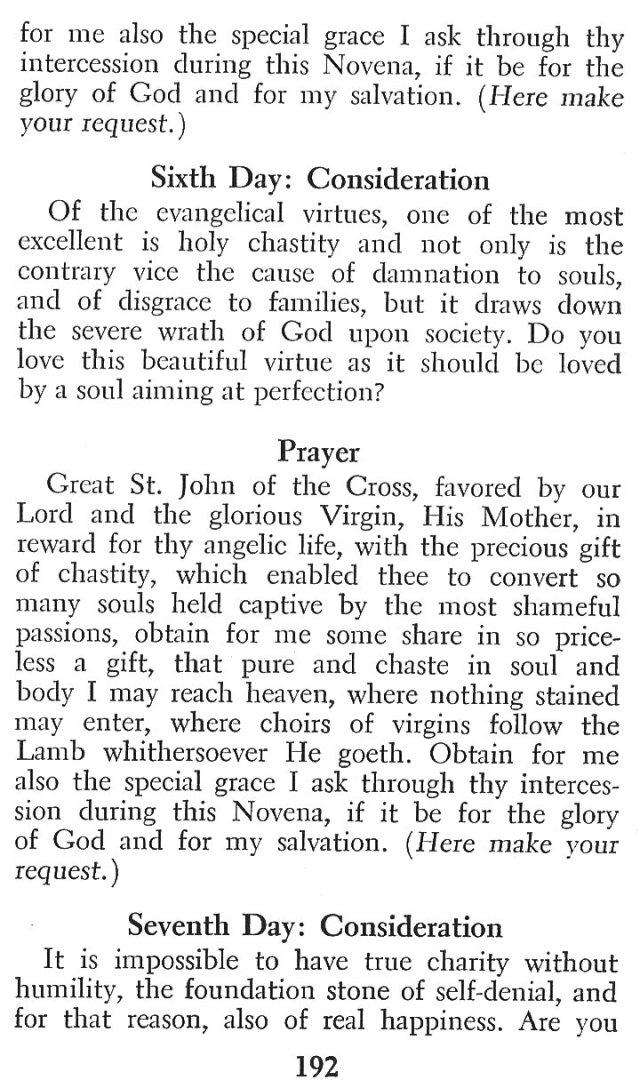 Devotions St. John of the Cross 9