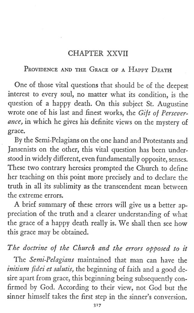 Grace of a Happy Death 1