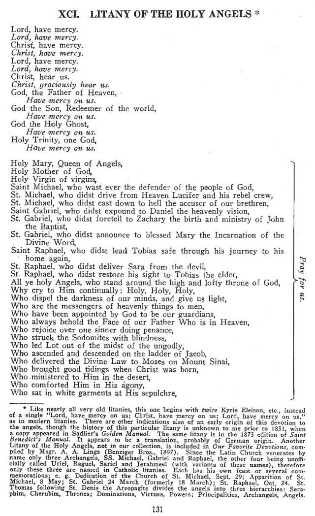 Litany of Holy Angels 1