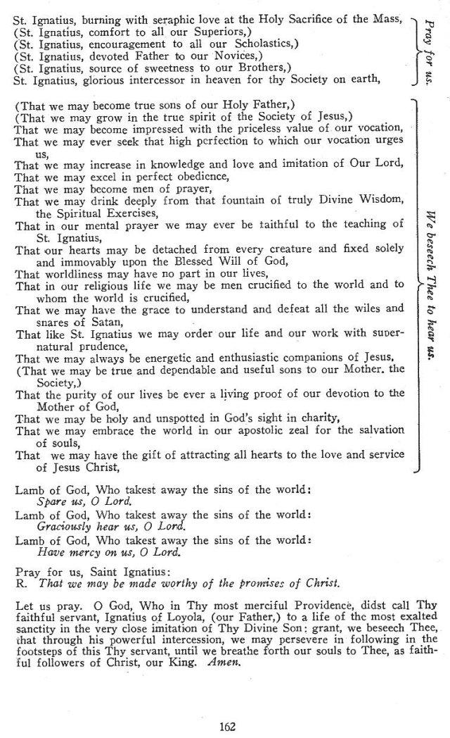 Litany of St. Ignatius 2