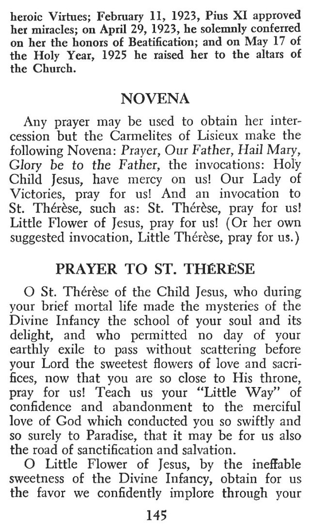 Little Flower Novena 2