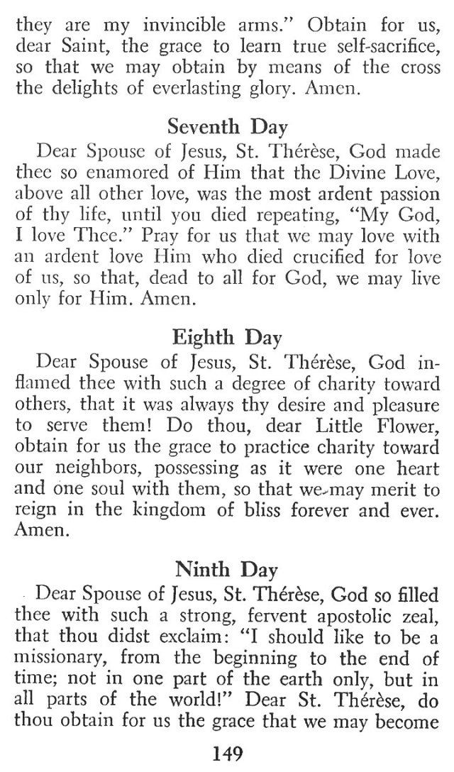 Little Flower Novena 6